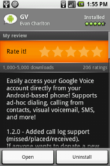 android apps google voice Free Android apps categorized to organize your Droid life
