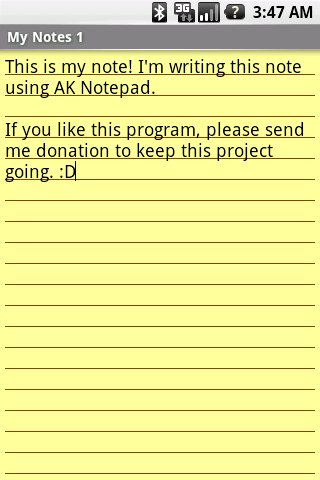 android business app ak notepad notes Top List Of Free Productive Android Apps For Business