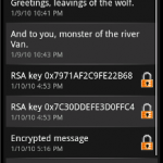 Android security secure sms 150x150 Google Android apps for your private security