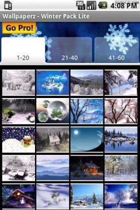 android apps games winter wallpapers lite save pack 280x420 Free Smartphone Apps For Winter Sports