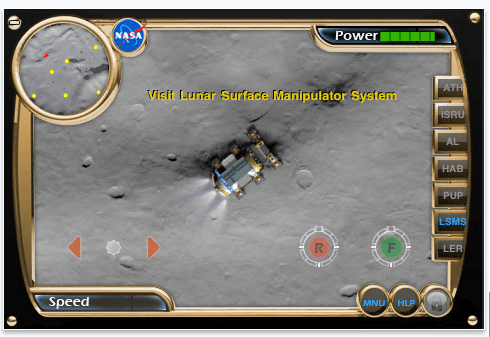 nasa rover iphone app game surface navigator Screenshots of LER Simulator iPhone app [NASA]