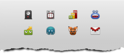 android free set monstericons 420x184 Android Icon Packs basics and a list of free Icon Sets