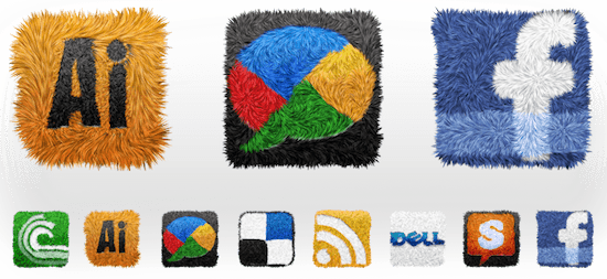 shag android icon set