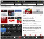 Opera Mini Smart Page Opera Mini 7.5 for Android offers Smart Page feature