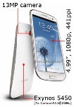 Samsung Galaxy S4 rumored to have quad-core A15 CPU and 13MP camera