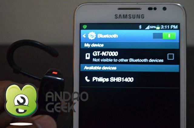 androgeek bluetooth headset 5 How To: Pair a Bluetooth headset with your Android device