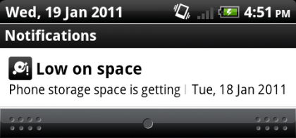 low on space 420x196 How To: Manage Storage on Your Android Phone or Tablet