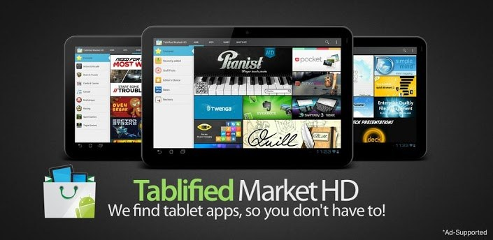 tablified.market hd Review: Tablified Market   A Little App Store Unto Itself