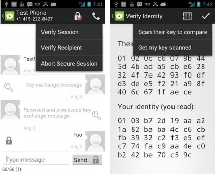 textsecure 420x341 Heres The 5 Best Free Apps for Private Texting & Calling on Android