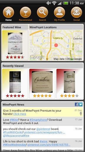 winepoynt app Cheers! Heres 5 Great Android Apps for Wine Lovers